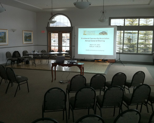 Successful Agm For 2011 The Crestmont Community Association